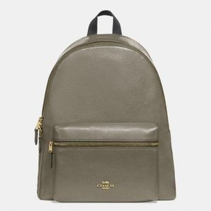 *NEW* Coach Leather Charlie Backpack